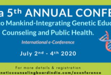 Genetic Counselling India Conference banner