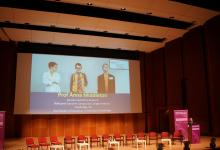 A still of Anna's presentation captured by summit attendee and Your DNA, Your Say collaborator Jusaku Minari