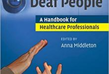 Image of book cover Working with Deaf People: A Handbook for Healthcare Professionals